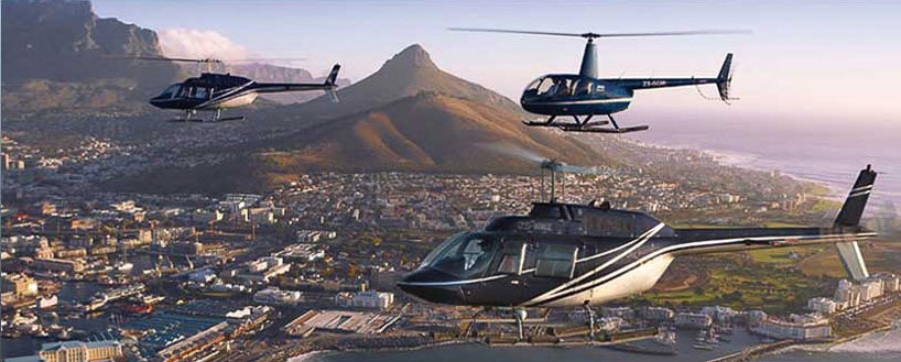 helicopters cape town